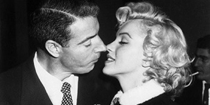 Joe DiMaggio e la Monroe