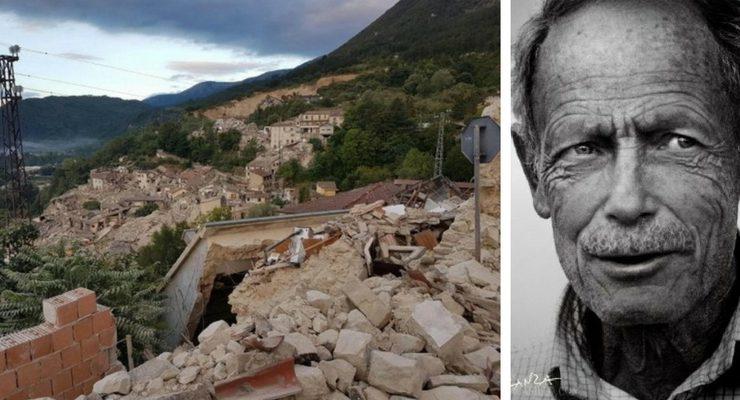 """""""Naufragio in terra"""", il pensiero di Erri De Luca dopo il terremoto di stanotte"""