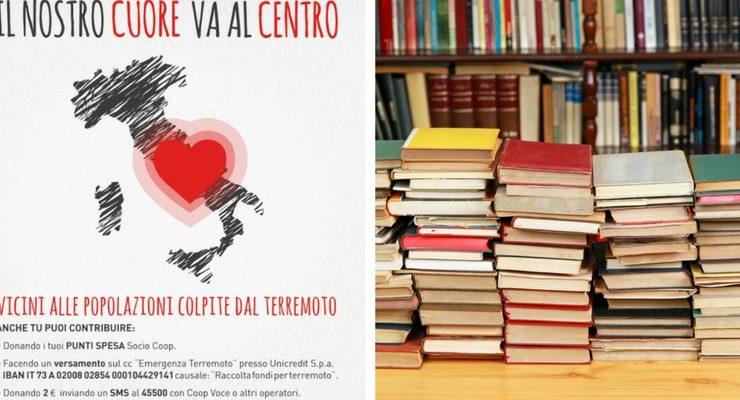 Terremoto, partita la raccolta di libri per i bambini di Amatrice