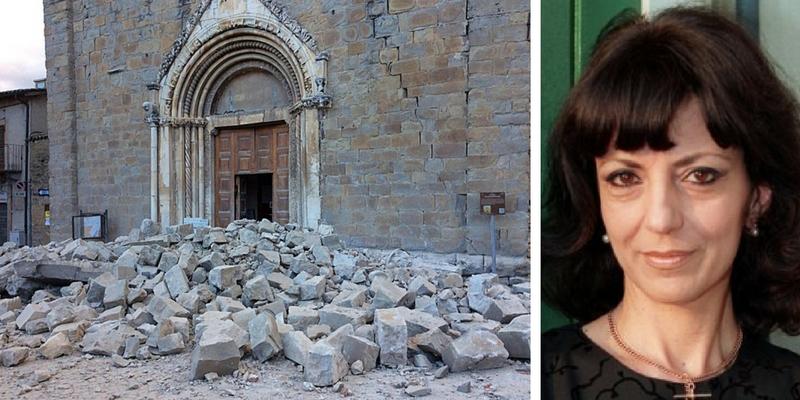 Romana Petri, ''Dov'è Dio quando accadono cose terribili come i terremoti?''