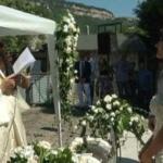 Ramon e Martina, matrimonio all'aperto per ripartire dopo il terremoto