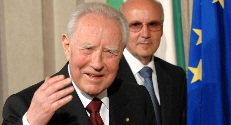 E' morto Carlo Azeglio Ciampi, presidente della Repubblica dal 1999 al 2006