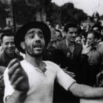 Robert Capa in Italia 1943-44 | Benvenuto alle truppe americane a Monreale, 23 luglio 1943