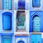 Le porte artistiche più belle al mondo | Chefchaouen, Morocco - Image credits: Olga Osipova