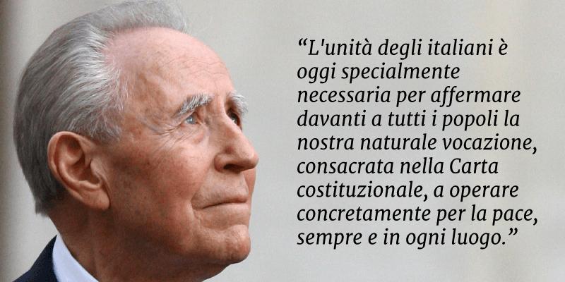Carlo Azeglio Ciampi, le frasi e gli aforismi storici dell'ex Capo dello Stato