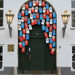 Le porte artistiche più belle al mondo | Copenhagen, Danimarca - Image credits: Ingeborg van Leeuwen