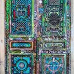 Le porte artistiche più belle al mondo | Montmartre, Parigi, Francia - Image credits: John Kroll