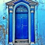 Le porte artistiche più belle al mondo | Northumberland, UK - Image credits: Maree Turner
