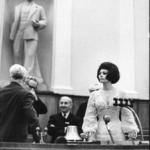 15 fotografie rare che probabilmente non avete mai visto | Sophia Loren al Cremlino
