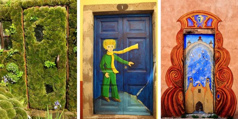 Le porte artistiche più belle al mondo, capaci di trasportarvi in altre dimensioni