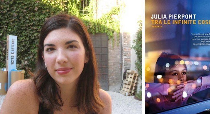 """""""Tra le infinite cose"""", l'esordio letterario del fenomeno letterario Julia Pierpont"""
