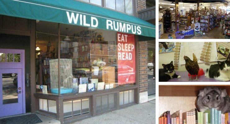 Wild Rumpus, la libreria per ragazzi dove è possibile leggere con gli animali