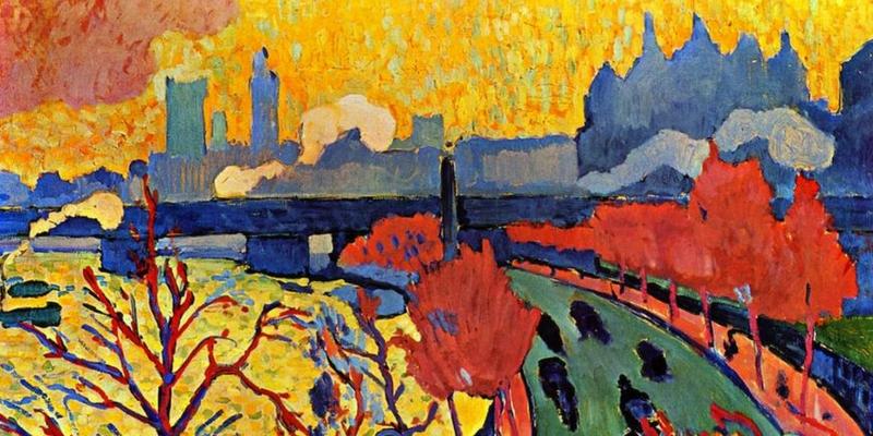 André Derain, Pont de Charing Cross