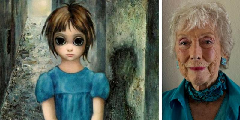 Margaret Keane, l'artista dai grandi occhi