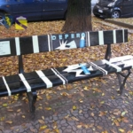 Le panchine d'autore di Torino | Omaggio a Depero