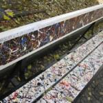 Le panchine d'autore di Torino | Omaggio a  J. Pollock