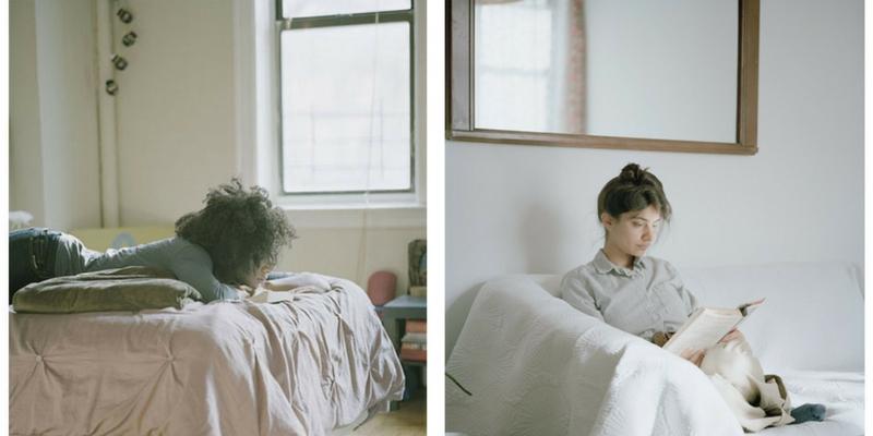 Fotografie, la bellezza delle donne che leggono immortalata negli scatti di Carrie Schneider