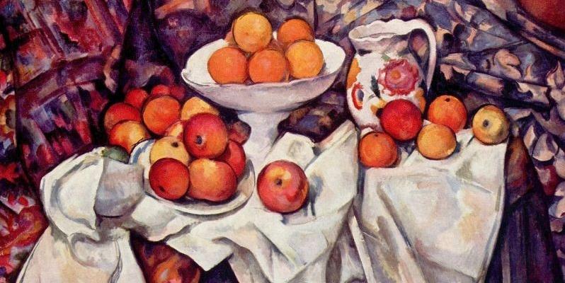 Paul Cézanne, costruire con il colore