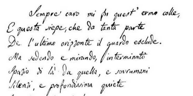 Terremoto, i manoscritti di Leopardi messi in salvo a Bologna
