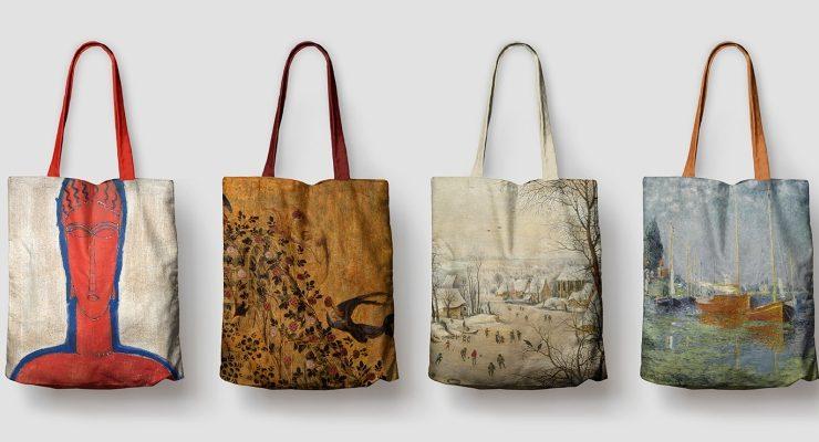 Porta i tuoi dipinti preferiti sempre con te con le nuove shopper di Skira