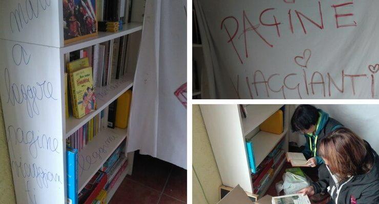 """""""Pagine viaggianti"""" per portare i libri nelle zone colpite dal terremoto"""
