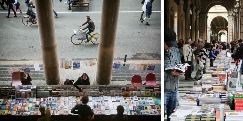 Tutto pronto per Portici di Carta, torna a Torino la libreria più lunga del mondo