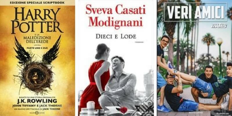 """""""Harry Potter"""" e Sveva Casati Modignani rimangono al primo e al secondo posto. Al terzo """"Veri amici"""""""