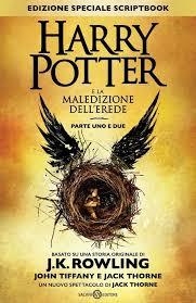 """""""Harry Potter e la maledizione dell'erede"""" in testa alla classifica della settimana"""