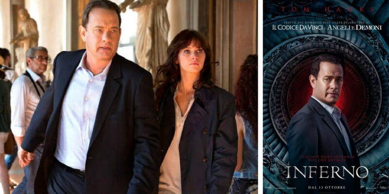 """Esce domani al cinema """"Inferno"""", tratto dal bestseller di Dan Brown"""