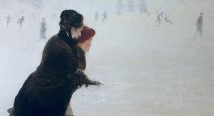 """""""Anima bianca. La neve da De Nittis a Morbelli"""" in scena a Milano"""