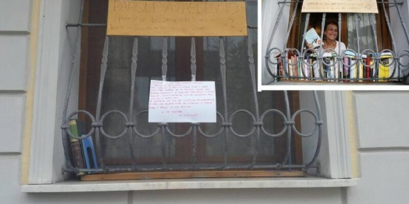Viareggio, rubati i libri della biblioteca di strada
