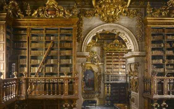 Biblioteca Joanina, Università di Coimbra, Portogallo