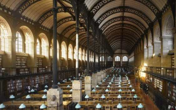 Biblioteca Sainte-Geneviève, Parigi, Francia