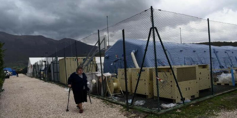 Centro italia, il maltempo infierisce sui terremotati