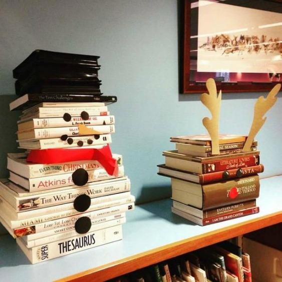 Libri Decorazioni Natalizie.Natale Ecco 7 Decorazioni Originali Pensate Per Chi Ama I Libri