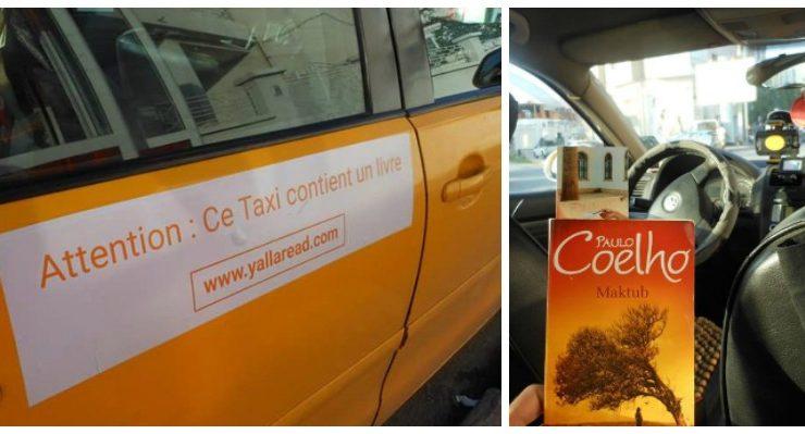 In Tunisia arrivano i taxi-biblioteca, per incoraggiare la gente a leggere di più