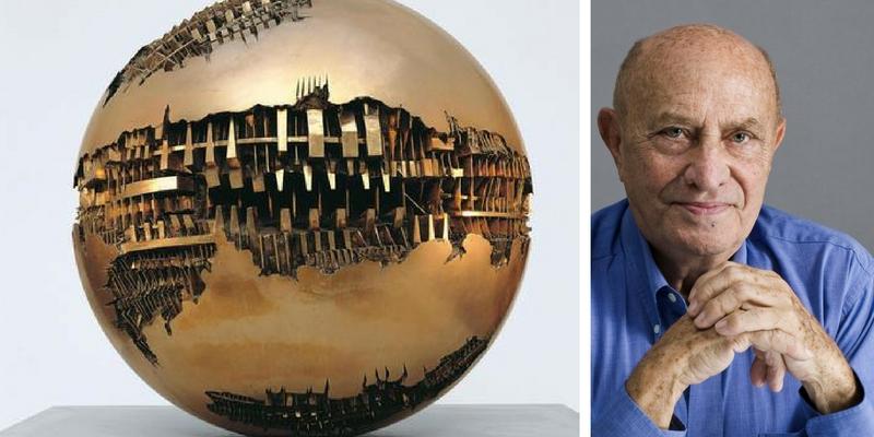 Milano festeggia i 90 anni di Arnaldo Pomodoro