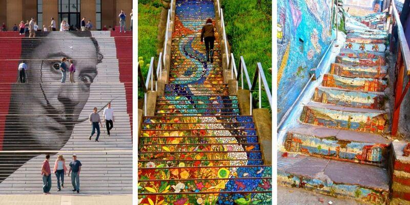 Ecco le 17 scale più belle del mondo, per dare valore artistico ai luoghi pubblici