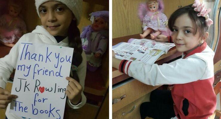 """Bana Alabed, storia della bambina di Aleppo che legge """"per dimenticare la guerra"""""""