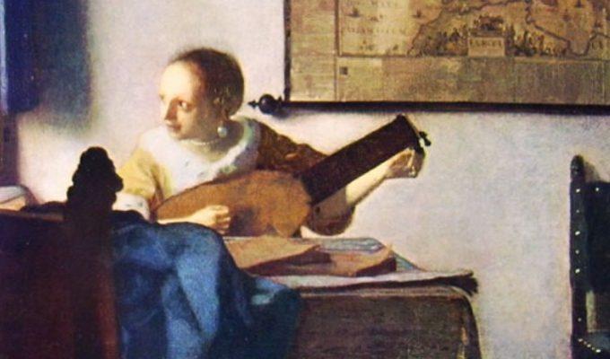 """La """"Donna con liuto"""" di Vermeer, da New York al Museo di Capodimonte a Napoli"""