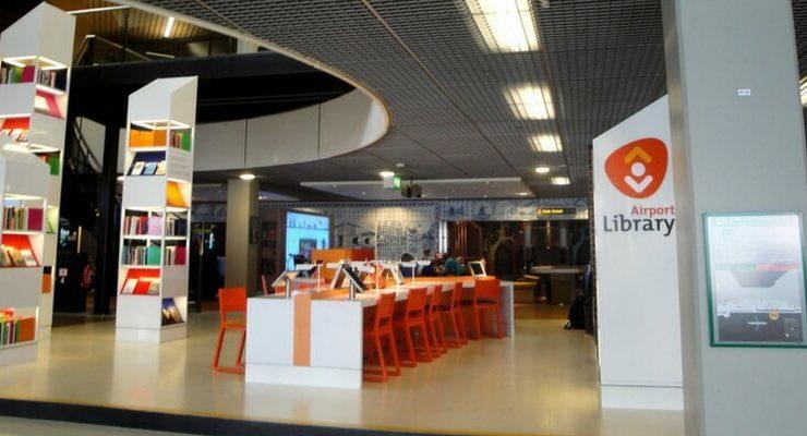 In Olanda la prima biblioteca al mondo permanente in un aeroporto
