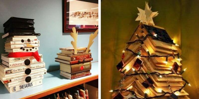 Natale, ecco 7 decorazioni orinali pensate per chi ama i libri