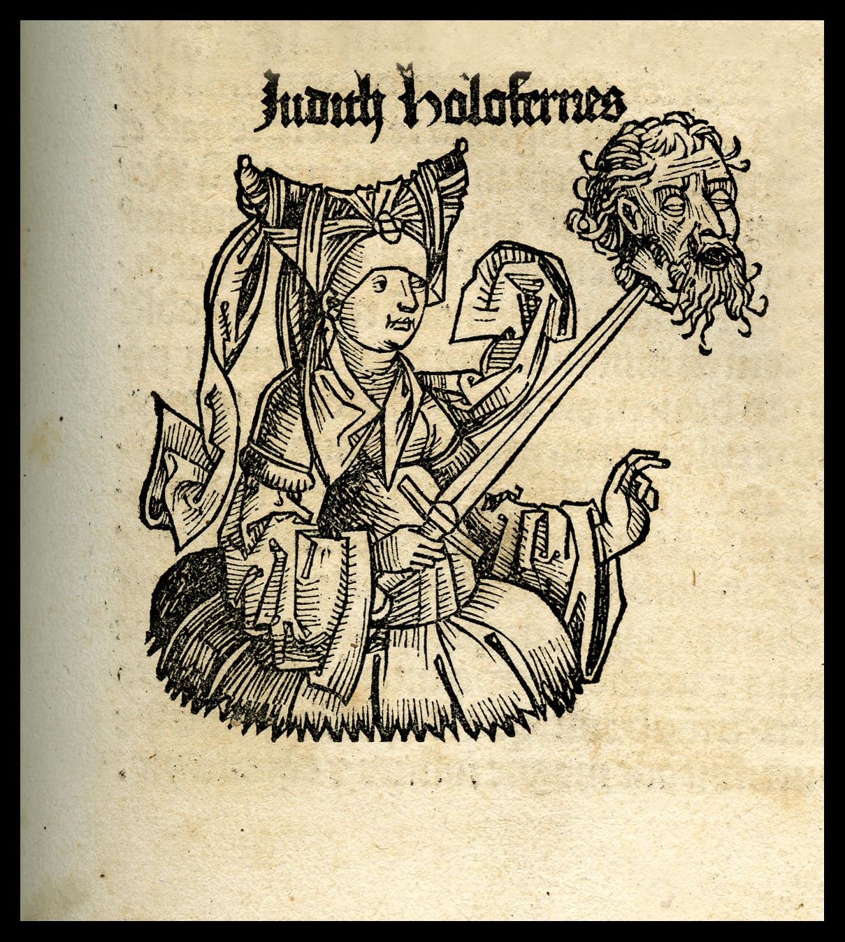 Hartmann Schedel (Norimberga, 1440 - 1514) Liber Chronicarum, Norimberga, Anton Koberger, 1493 Biblioteca del Museo Correr, Fondazione Musei Civici di Venezia