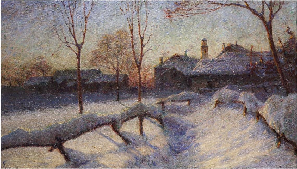 Neve e sole a Miazzina - Tominetti A.