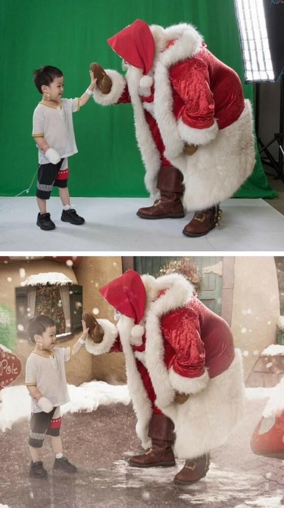 Matthew e Babbo Natale