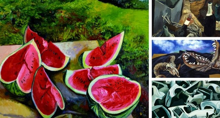 Le nature morte di Guttuso in mostra a Palermo