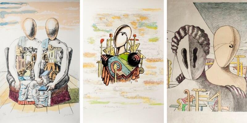De Chirico e la sua pittura metafisica in mostra a Milano