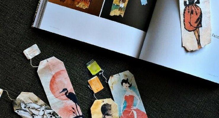 363 Days of Tea, le bustine di tè si trasformano in opere d'arte