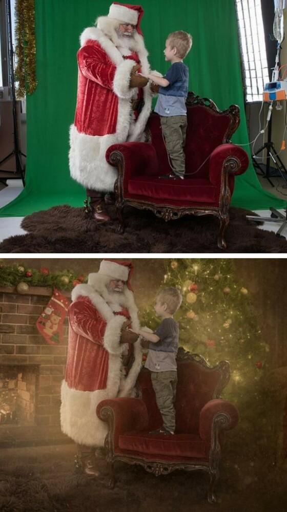 Jaylen e Babbo Natale