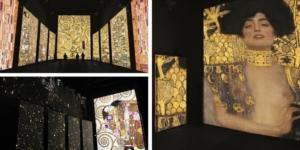 """""""Klimt Experience"""" a Firenze la mostra che ti fa """"immergere"""" nelle opere d'arte"""
